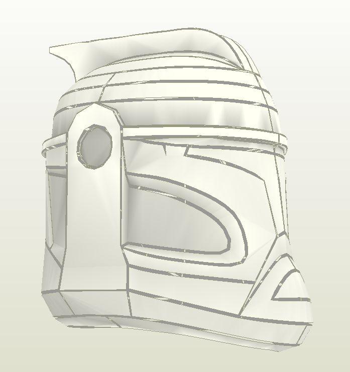 шлем clone trooper 2