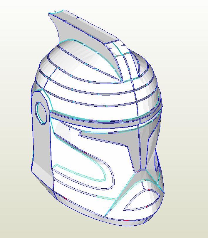 шлем clone trooper
