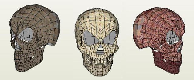 Paper Mad skull