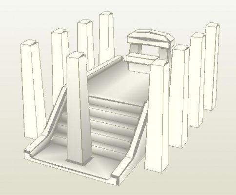 Храм из бумаги