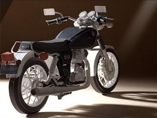 мотоцикл из бумаги