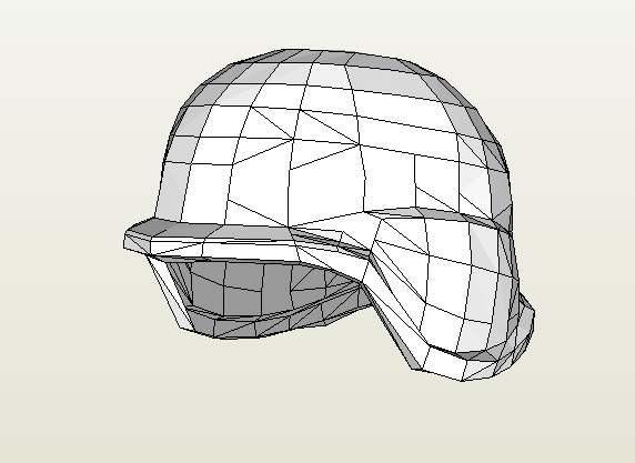 шлем из бумаги