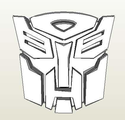 эмблема трансформеров