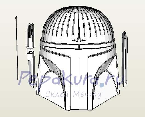 шлем бобы фетта