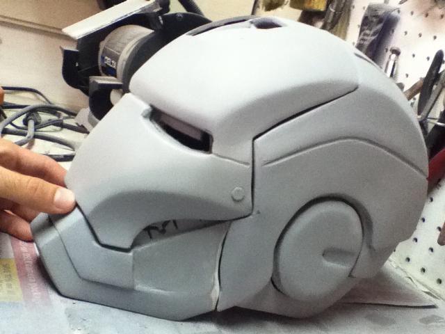 Шлем железного человека из