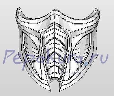 маска мортал комбат