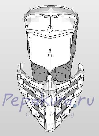 маска скорпиона пепакура