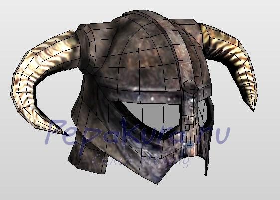шлем довакина своими руками