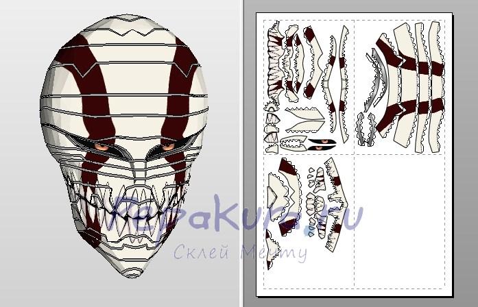 как сделать маску Ичиго