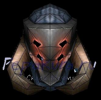 Латный шлем гладиатора