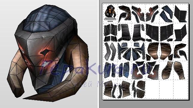 gladiator's plate helm сделать