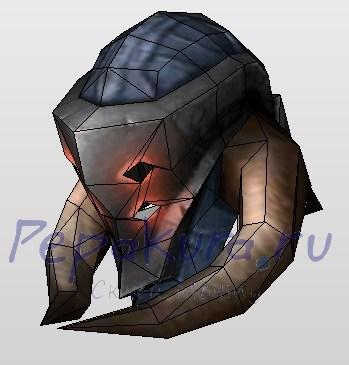 gladiator's plate helm