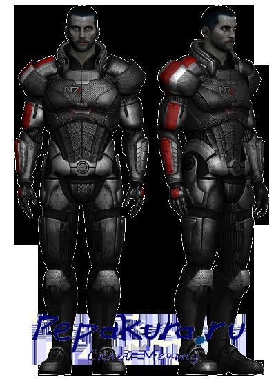 броня Шепарда N7