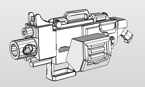 Heavy Bolter download template
