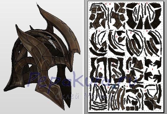 эльфийский шлем сделать своими руками