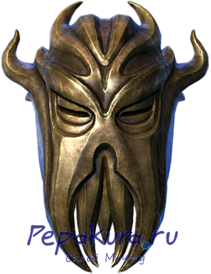 Miraak mask papercraft