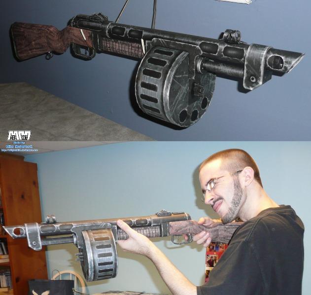 combat shotgun pepakura