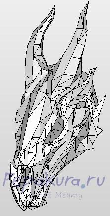 череп дракона