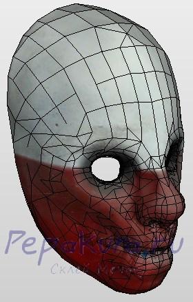 сделать маску Вульфа
