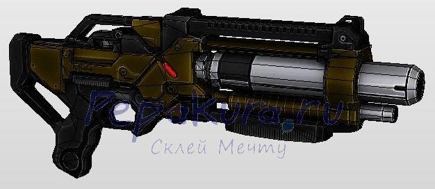 Развертка M-11 Wraith
