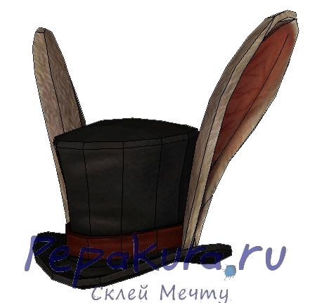chapeau-lapin-alice-papercraft