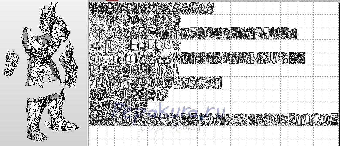 Броня Владыки из бумаги