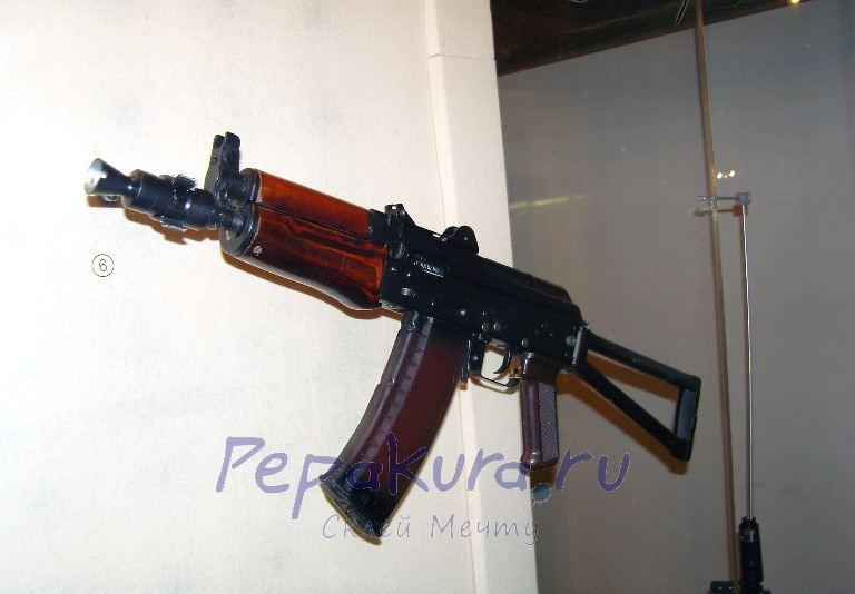 AKS-74U papercraft