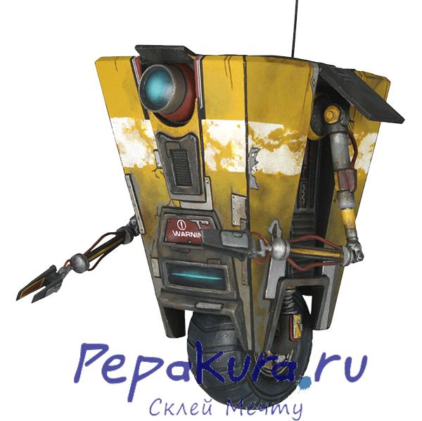 Claptrap-papercraft