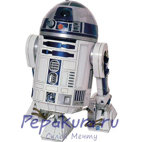 R2-D2-papercraft
