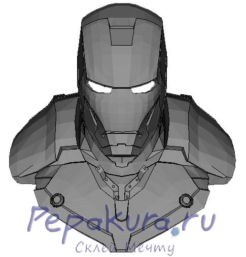 Iron-man-papercraft
