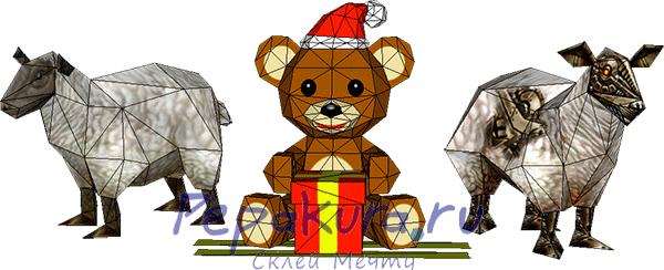 новогодние-развертки