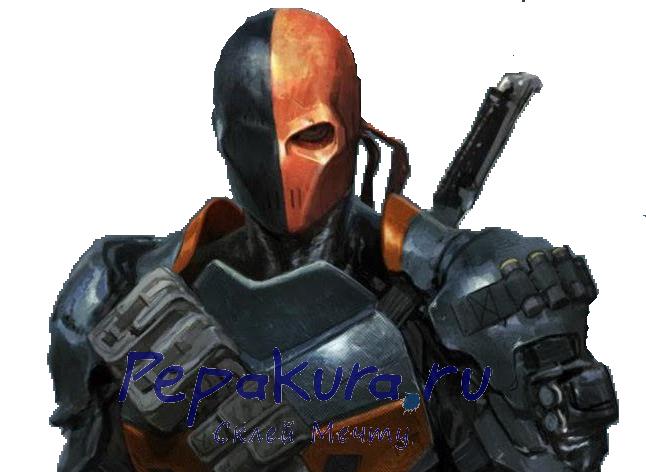 Deathstroke-mask-pepakura