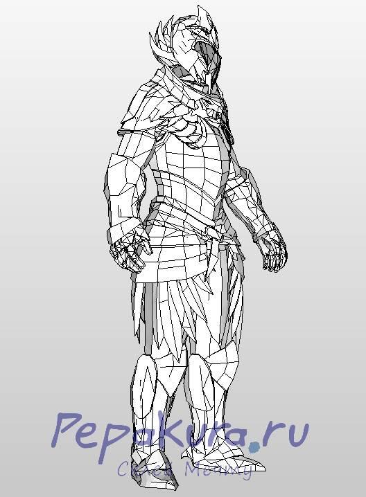 Elven Armor pdo pepakura