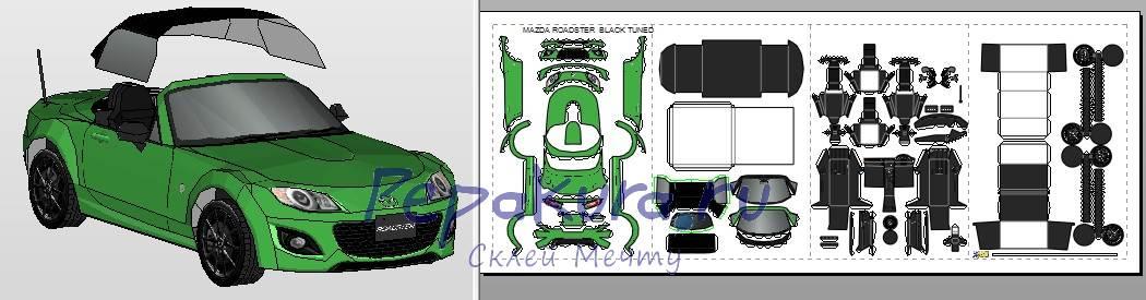 Mazda Roadster pdo