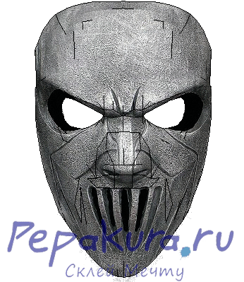 Mike Thomson mask pdo papercraft