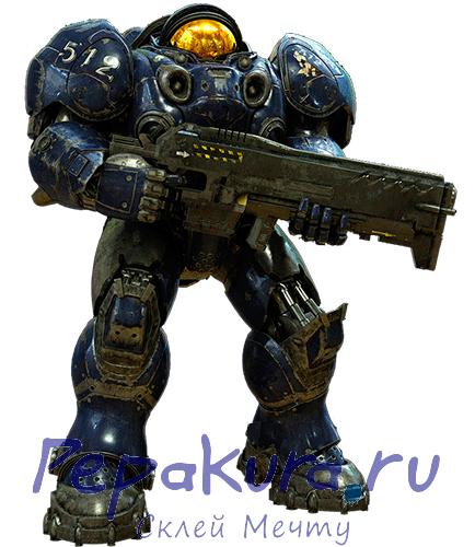 Terran Marine Armor