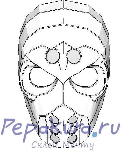mask pdo papercraft