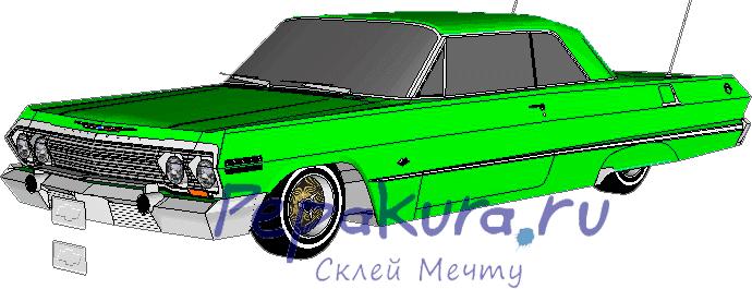 Impala Lowrider Pepakura