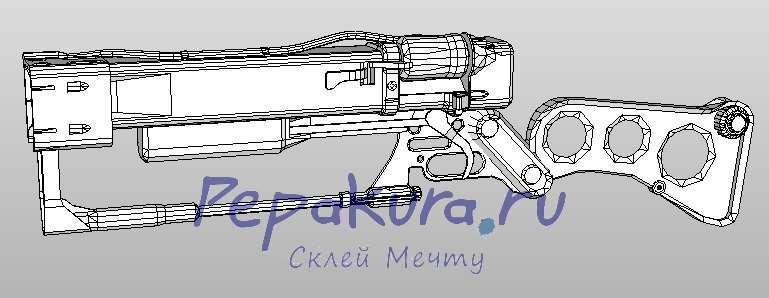 Модель Лазерной винтовки