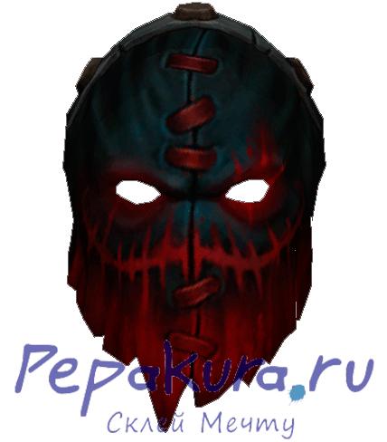 Pudge mask papercraft