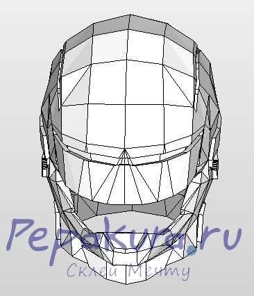 Шлем Робокопа сделать