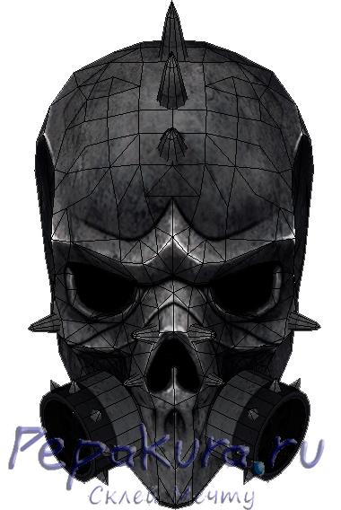 Развертка-маски-MetalHead-скачать