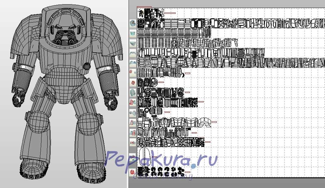 Terminator Armor papercraft