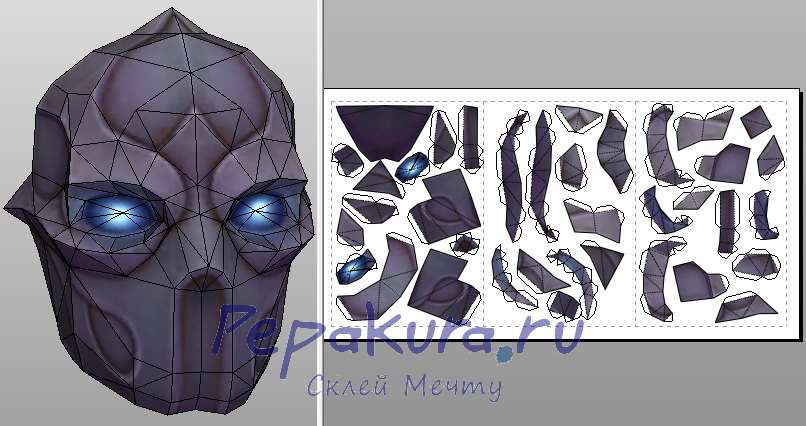 antimage mask papercraft