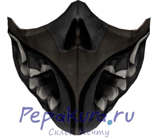Сделать маску Призрака из бумаги