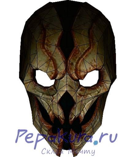 Теневая маска из бумаги