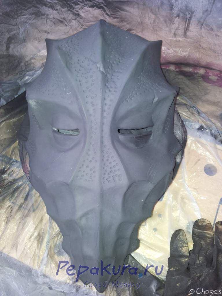 Грунтуем маску жреца