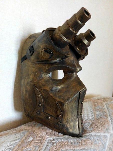 Стимпанк маска как сделать