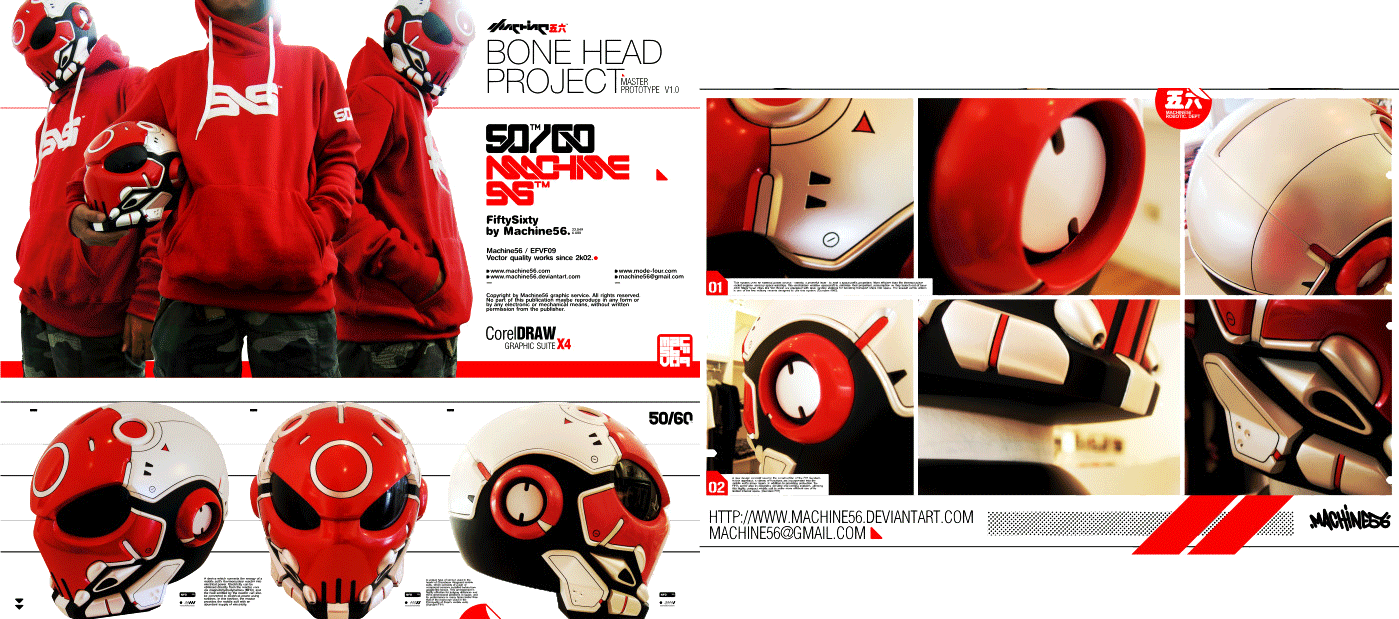 bone head project prototype