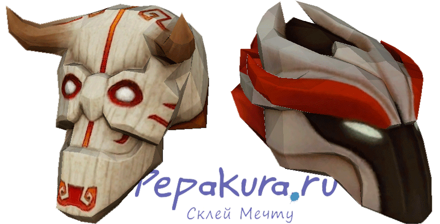 Dota 2 mask download template